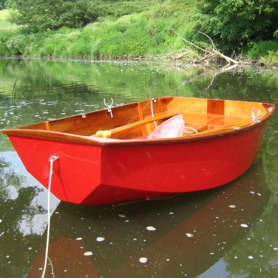 DIY pram dinghy