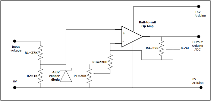 Voltage measurement circuit